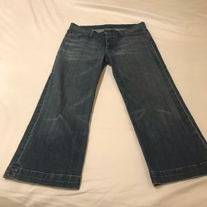 7 For All Mankind Jeans - 7 for all mankind CROP DOJO